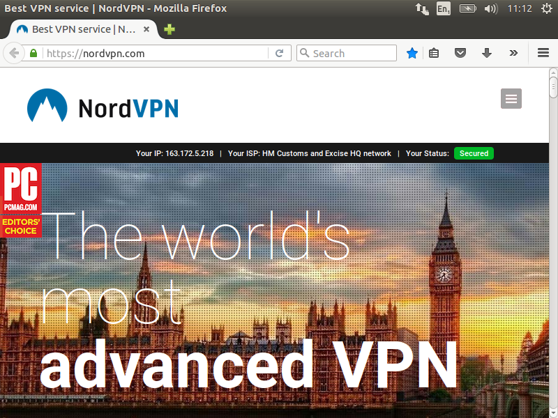NordVPN – HM Customs and Excise HQ network??? | Steve's Home Lab